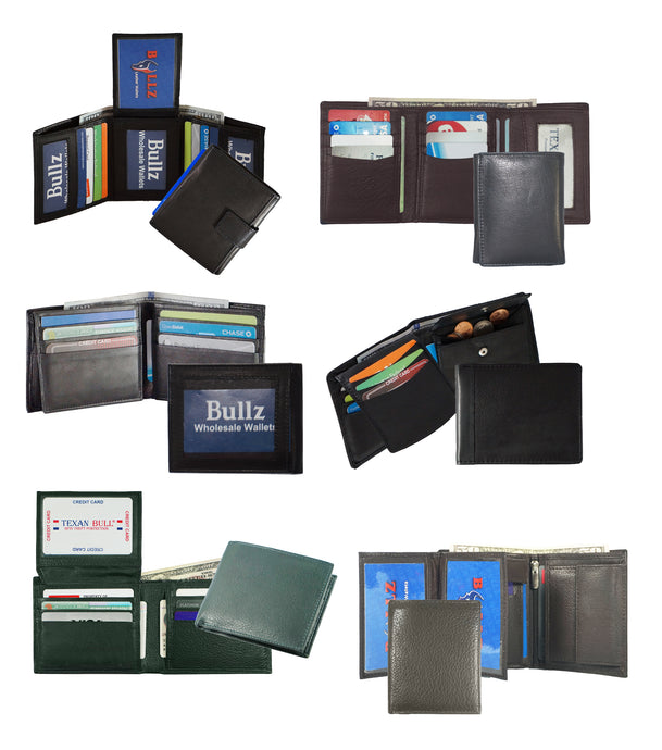 Assorted Mens Wallet 24pcs