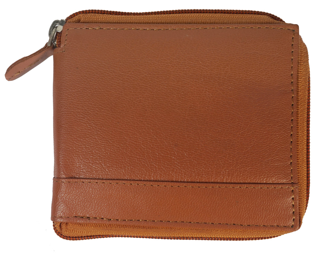Zipper Mens Wallet ZW101-TN