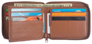 Zipper Mens Wallet ZW5101