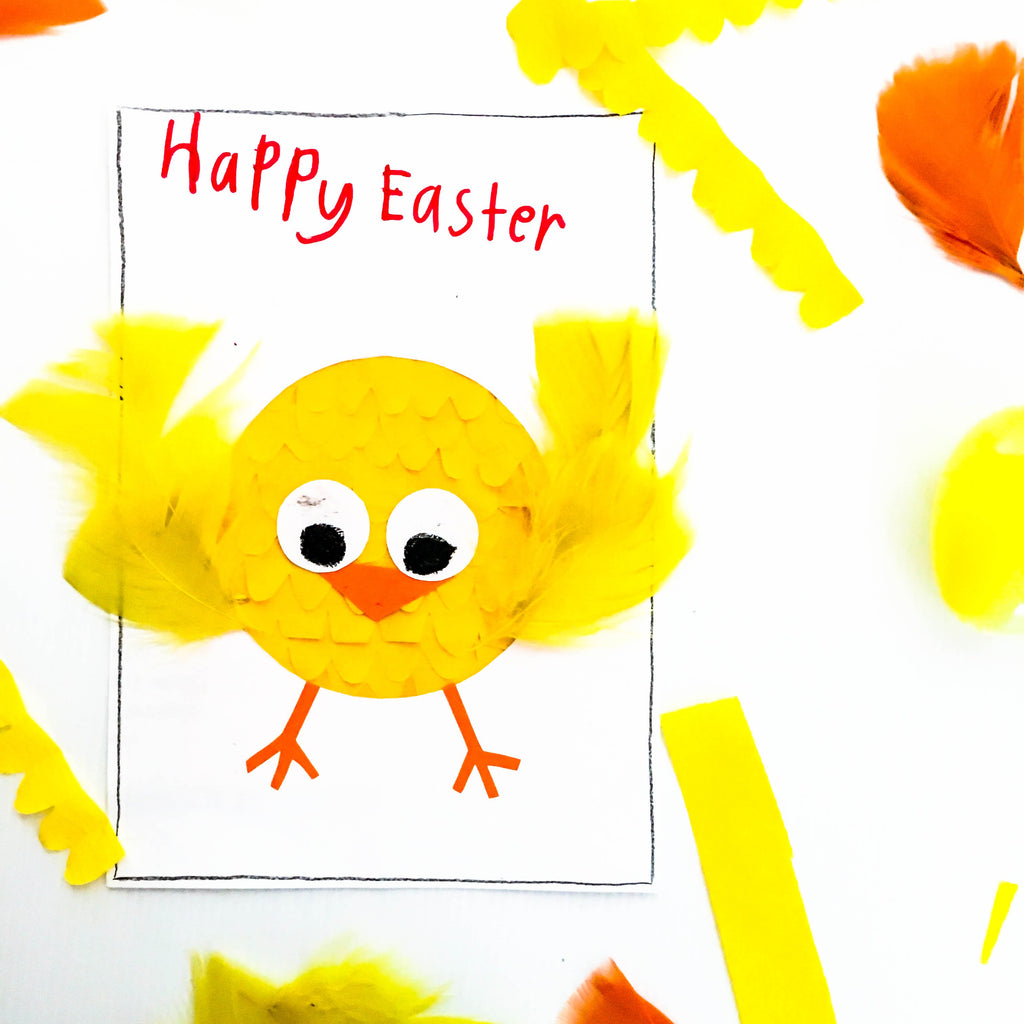 DIY Easter Chick Card