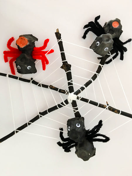 DIY Spiderweb - Happy Active Kids Australia