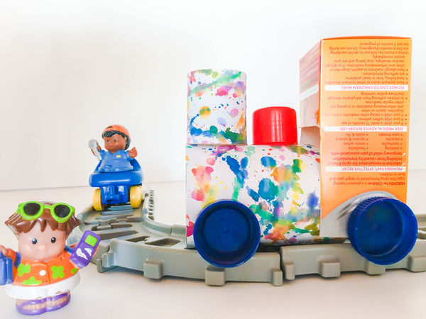 DIY Tin Can Train - Happy Active Kids Australia