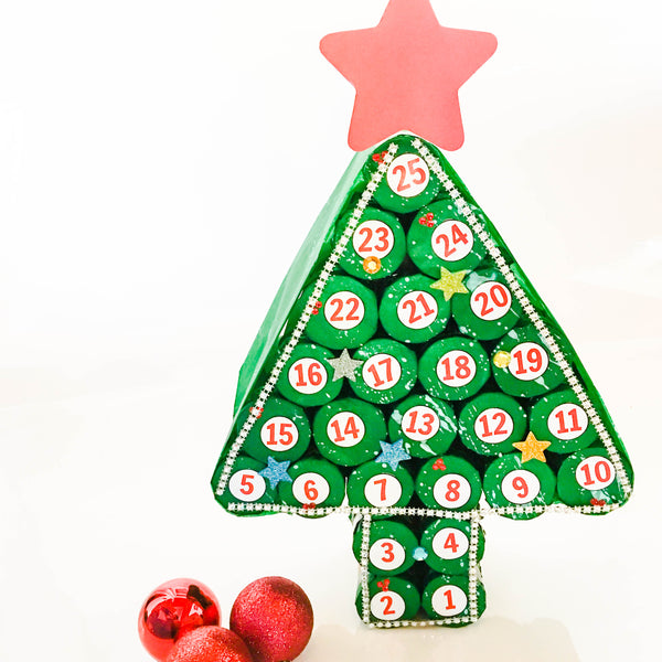 Recycled DIY Christmas Advent Calendar - Happy Active Kids Australia