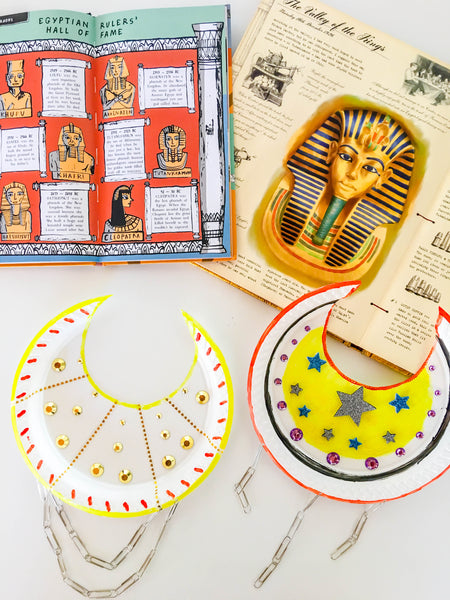 DIY Egyptian Necklace - Happy Active Kids