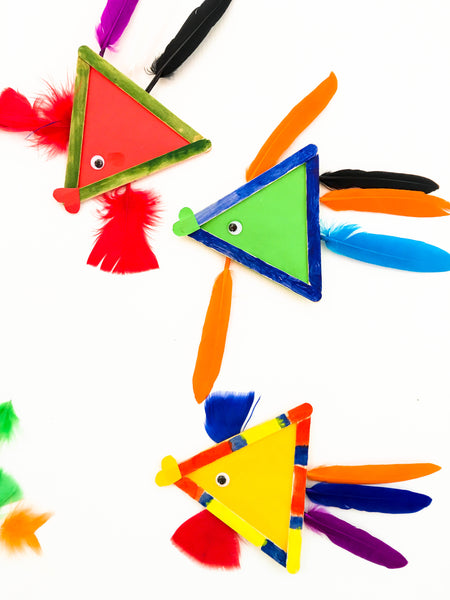 Popsicle Fish Craft - Happy Active Kids Australia