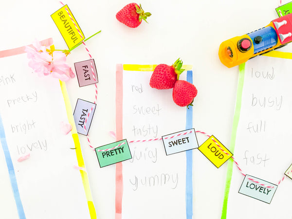 DIY Human Thesaurus Game - Happy Active Kids