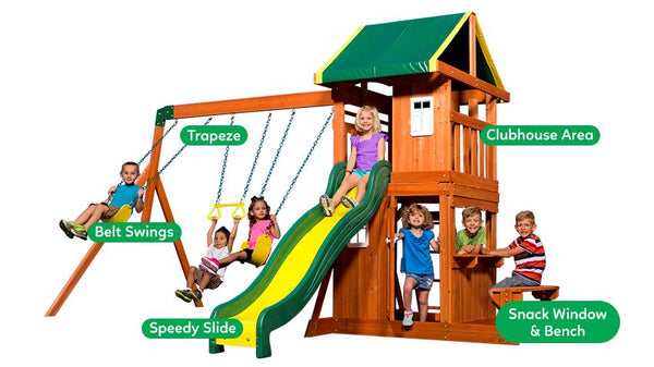 BYD Oakmont Cedar Play Centre - Lifespan Kids - Happy Active Kids