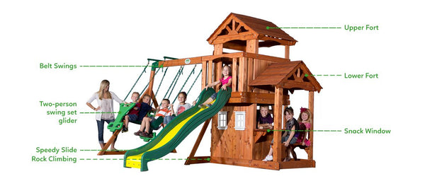 BYD Tanglewood Play Centre - Lifespan Kids - buy online Happy Active Kids