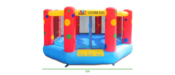 AirZone 8 12ft Bouncer - Lifespan Kids - buy online Happy Active Kids