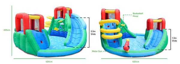 Atlantis Slide and Splash - Lifespan Kids - buy online Happy Active Kids