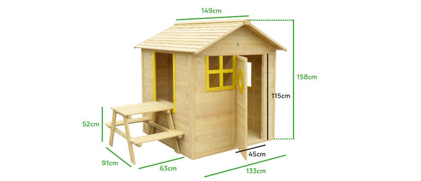 Bandicoot Cubby House Set - Lifespan Kids - buy online Happy Active Kids