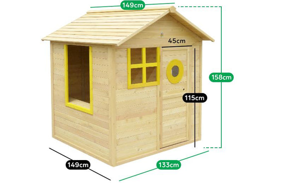 Buy online: Bandicoot Wooden Cubby House - Lifespan Kids - Happy Active Kids Australia