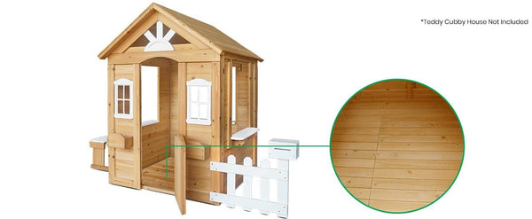 Buy online: Teddy Cubby House Floor Only - free shipping - Happy Active Kids Australia - Lifespan Kids