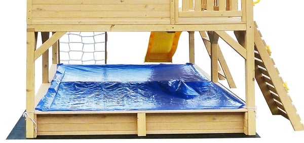 Winchester Cubby House with Blue Slide - Lifespan Kids - Happy Active Kids