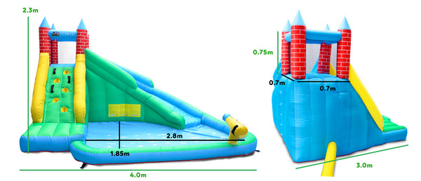 Windsor 2 Slide and Splash - Lifespan Kids - Happy Active Kids buy online