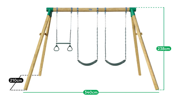 Wesley Swing set - Lifespan Kids