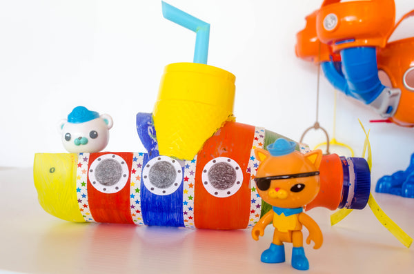 DIY Rainbow Submarine - Happy Active Kids Australia