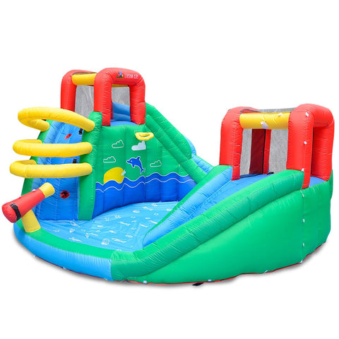 Lifespan Kids Inflatables Atlantis Slide and Splash - Lifespan Kids 09347166040541 PEATLANTIS Buy online: Atlantis Slide and Splash - Lifespan Kids  Happy Active Kids Australia