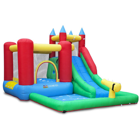 Lifespan Kids Inflatables Surrey 2 Slide and Splash Inflatable - Lifespan Kids 09347166036513 PESURREY2 Buy online: Surrey 2 Slide and Splash Inflatable - Lifespan Kids Happy Active Kids Australia