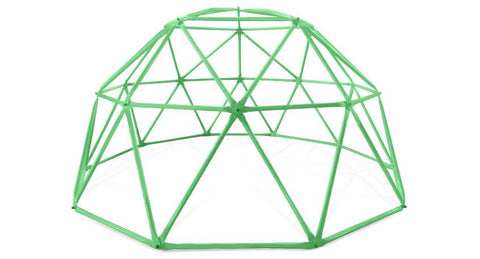 Lifespan Kids Play Centres 2.5m Dome Climbing Frame in Green - Lifespan Kids PEDOMECLIMBER25 Buy online: 2.5m Dome Climbing Frame in Green - Lifespan Kids Happy Active Kids Australia