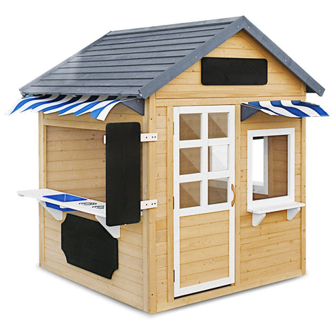 Lifespan Kids Play Houses Aberdeen Wooden Cubby House - Lifespan Kids (contact us for shipping quote) LKCH-ABERDEEN Buy online: Aberdeen Wooden Cubby Play House - Lifespan Kids Happy Active Kids Australia