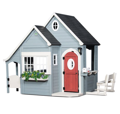 Lifespan Kids Play Houses Backyard Discovery BYD Spring Cottage Cubby Playhouse - Lifespan Kids BYDSPRINGCOTTAGE-SET Buy online: Backyard Discovery BYD Spring Cottage Cubby Playhouse  Happy Active Kids Australia
