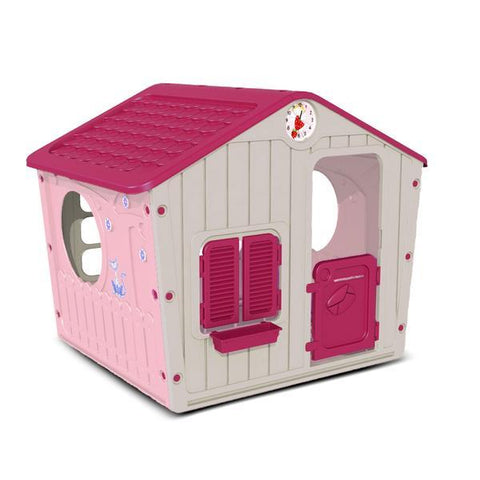 Lifespan Kids Play Houses Starplay Pink Galilee Village Cubby Play House - Lifespan Kids 07290014589056 SPPINKGALILEEVILLAGEHOUSE Buy online: Starplay Pink Galilee Village Cubby - Lifespan Kids Happy Active Kids Australia