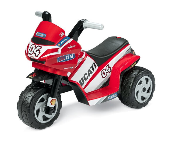 Peg-Perego Electric Ride Ons Ducati Mini 6v Electric Motorbike Ride On - Peg-Perego (OUT OF STOCK) IGMD0005 Buy online: Ducati Mini 6v Electric Motorbike Ride On - Peg-Perego Happy Active Kids Australia
