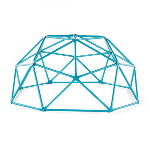 Plum Play Centres Plum® Deimos Metal Dome Climbing Frame - Teal 5036526062053 22403 Buy online: Plum® Deimos Metal Dome Climbing Frame in Teal  Happy Active Kids Australia