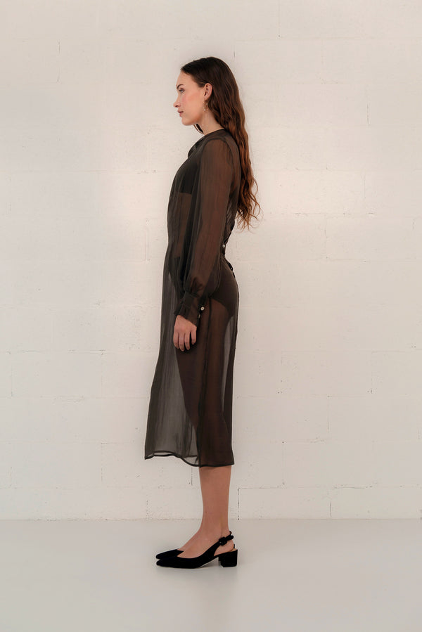 SILK VOILE DRESS
