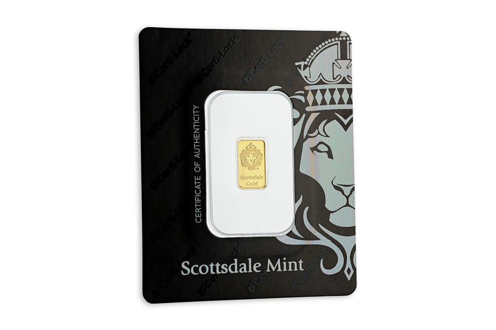1 g Scottsdale Gold Bar