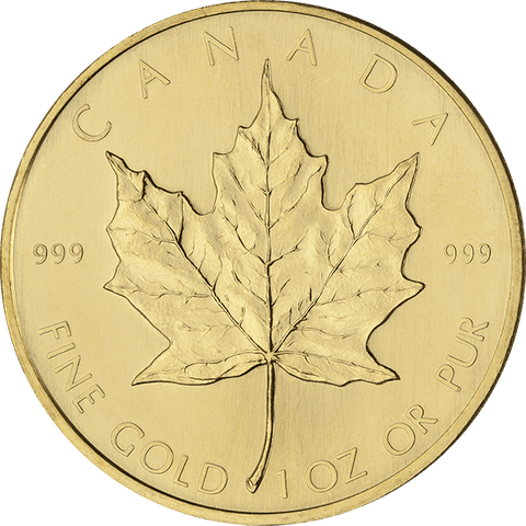Image of 1 OZ CANADIAN GOLD MAPLE LEAF