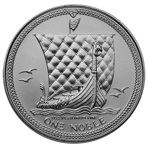 Image of 1 OZ PLATINUM NOBLE ISLE OF MAN
