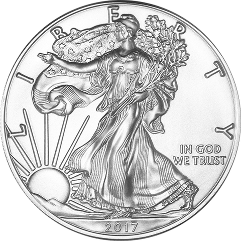 Image of 2017 1 OZ AMERICAN SILVER EAGLE