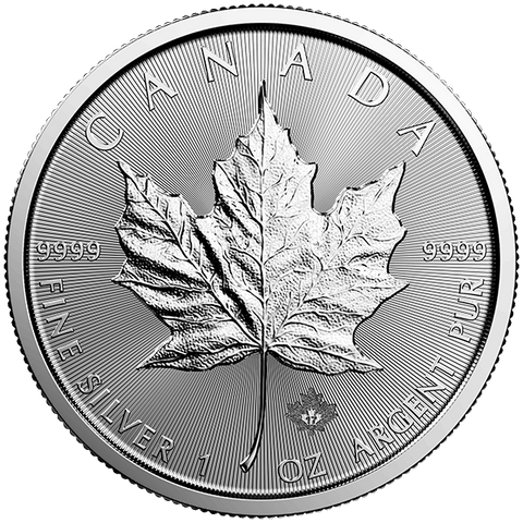 Image of 2017 1 OZ CANADIAN SILVER MAPLE LEAF