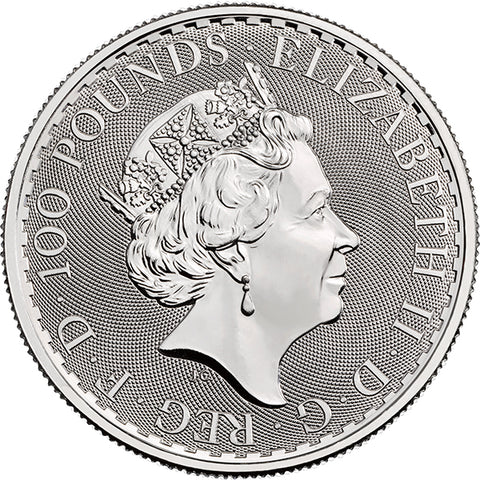 Image of 2018 1 OZ GREAT BRITAIN PLATINUM BRITANNIA
