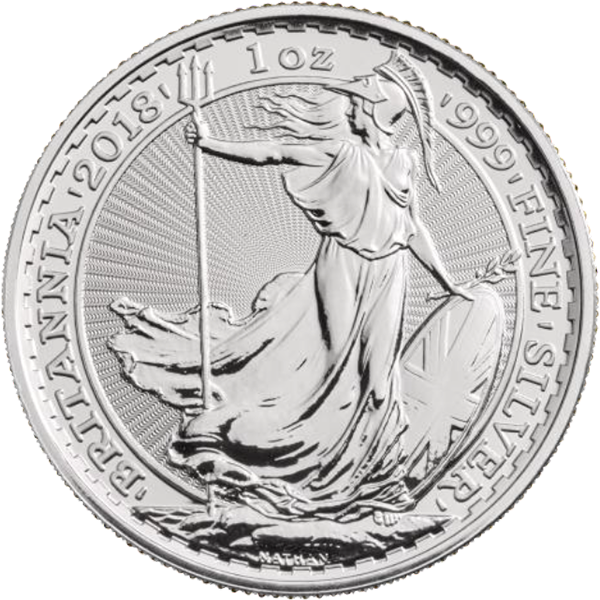 2018 1 OZ GREAT BRITAIN SILVER BRITANNIA