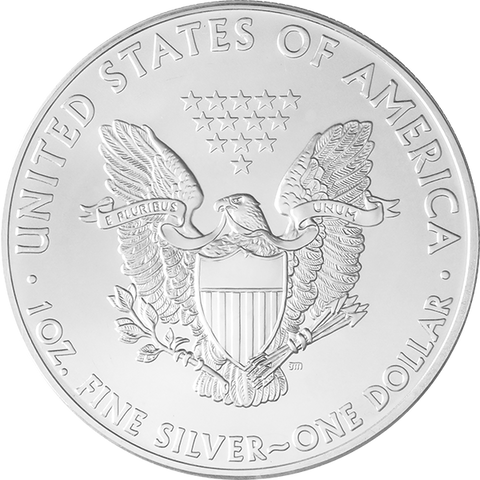 Image of 1 OZ AMERICAN SILVER EAGLE
