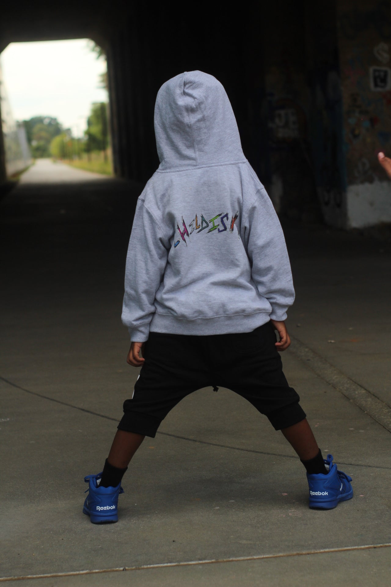 """Run Man""Toddler/Big Kids Hoodie"