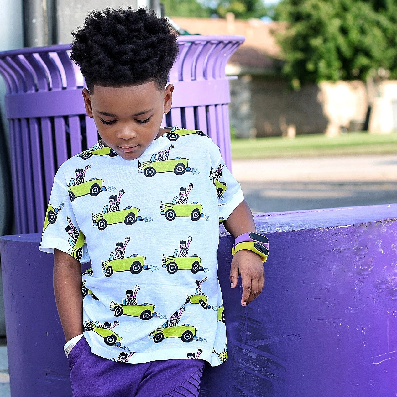 """Rollin' With The Homies"" Little Kids Tee"