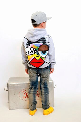 """Love"" Hand Painted Hoodie Kids/Adult"