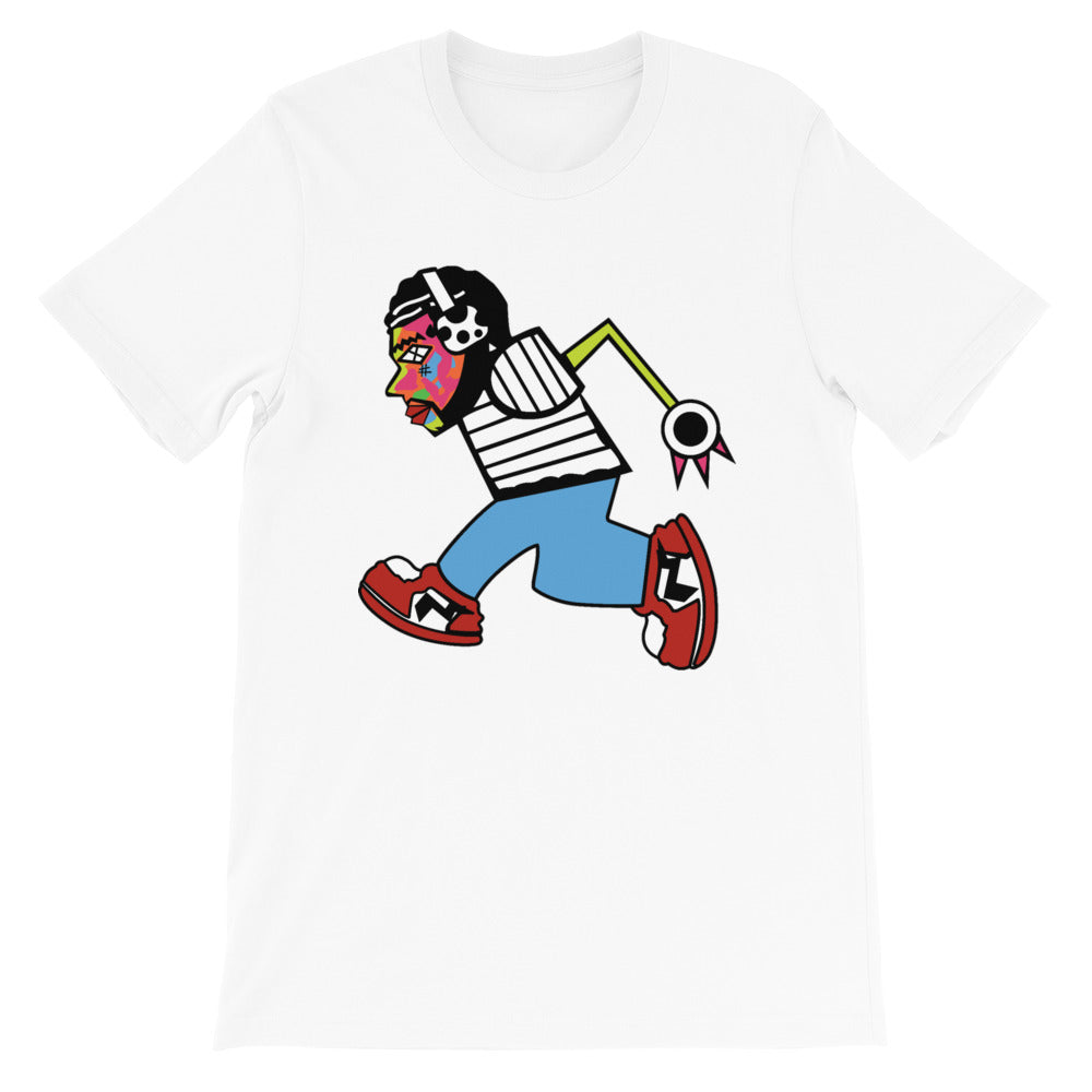 """Run Man"" Unisex Adult Tee"