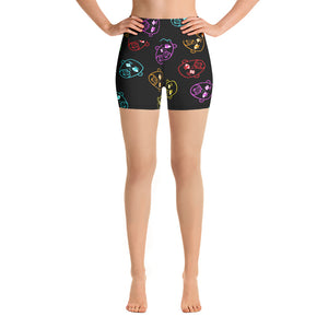 """Dope Art"" Yoga Shorts"