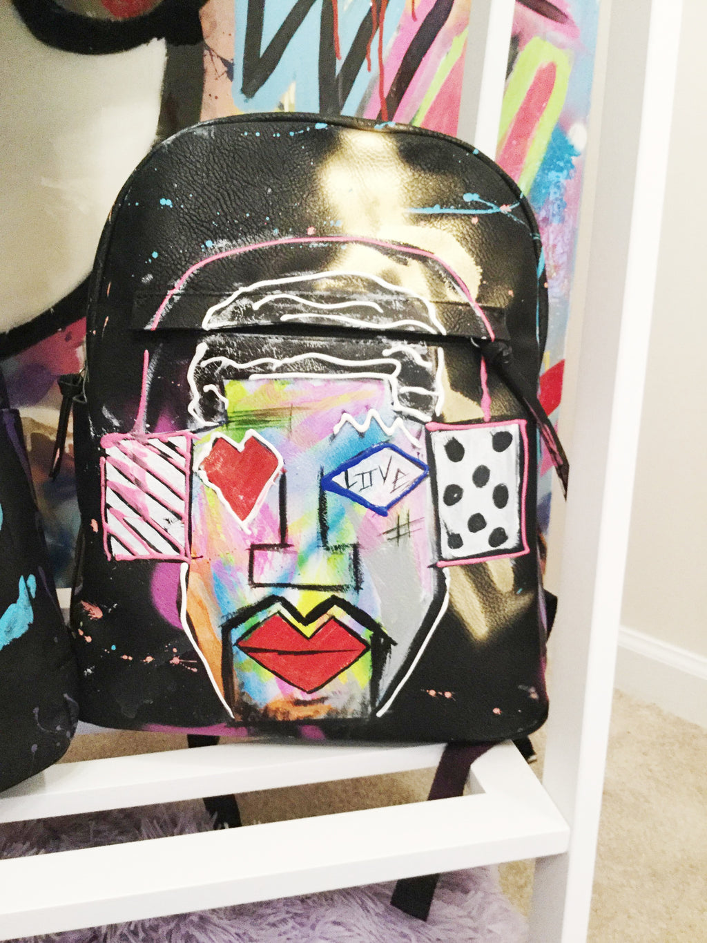 """Pikanye Got Your Back"" Book Bag - Canakkalefrm"