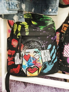 """Touch The Music"" Book Bag - Canakkalefrm"