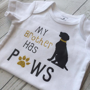 My Brother Has Paws Tee