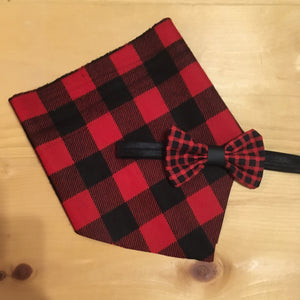 Plaid Bow