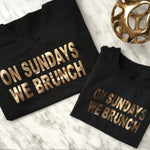 Mommy & Me Brunch Tee Set