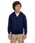 St. Andrews Youth Heavy Blend™ 8 oz., 50/50 Full-Zip Hood