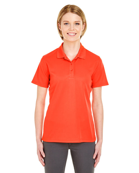 FDC Logo Florida Department of Corrections - Ladies' Value Moisture Wicking Polo